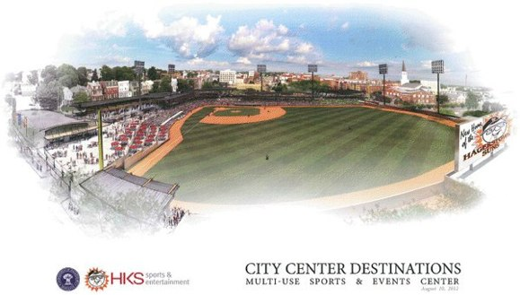 Proposed Hagerstown ballpark