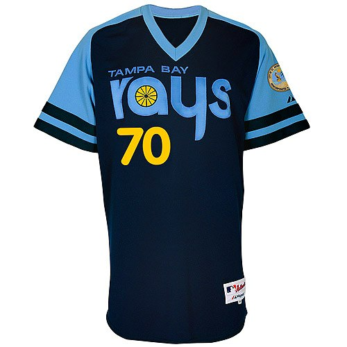 Tampa Bay Rays retro uniform